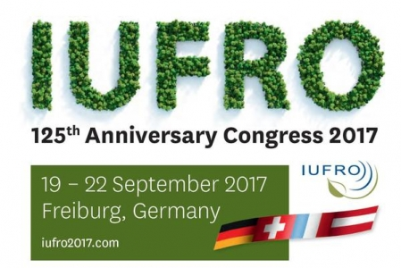 IUFRO 125th Anniversary Congress 19 – 22 Sept. 2017 in Freiburg, Germany